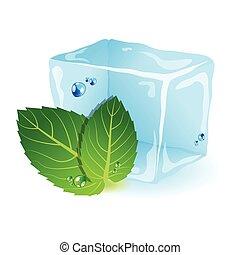 menta, ghiaccio