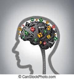 mental, énfasis