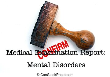 Mental disorder