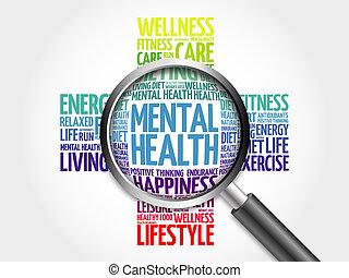 Mental Health Orange White Crossword Puzzles Series