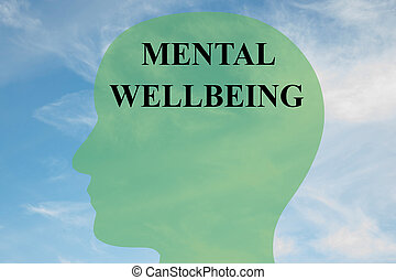 mentale, wellbeing, concetto