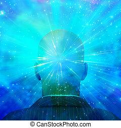 mente, de la luz