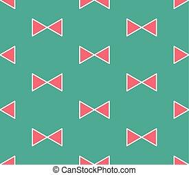 menthe, ruban, arrière-plan vert, rouges