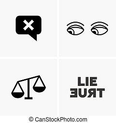mentira, señales