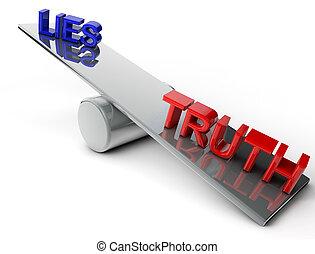 mentiras, verdade