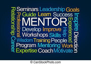 Mentor Word Cloud