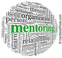 mentoring, concepto, palabra, nube, etiqueta
