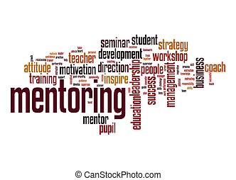 Mentoring word cloud