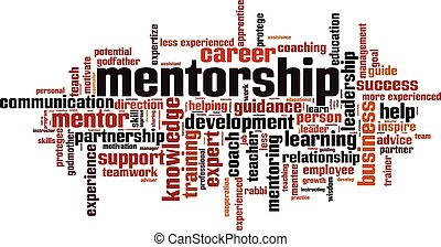 Mentorship word cloud