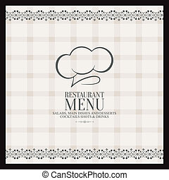 Menu - Abstract menu background with some special objects