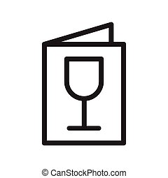 menu, boissons