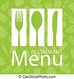 menu, carte, restaurant