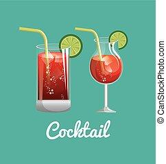 menu cocktails list bar