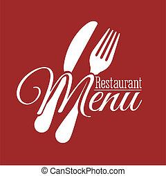 menu, design