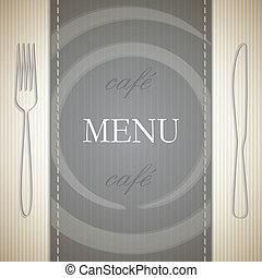 menu, disegno