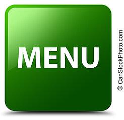 Menu green square button