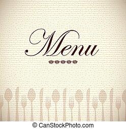 menu, icone