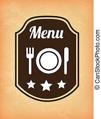 menu label