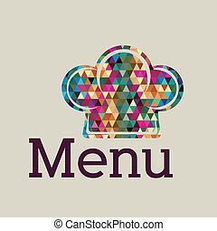 menu, ontwerp