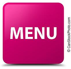 Menu pink square button