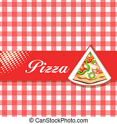 menu, pizza
