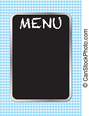 menu, planche