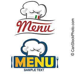 menu project 2