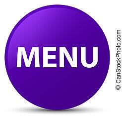 Menu purple round button
