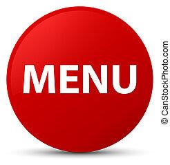 Menu red round button