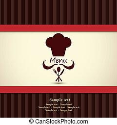 menu, restaurace