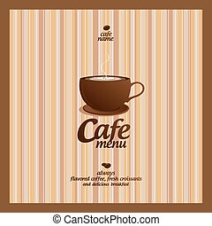 menu., restaurant