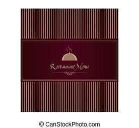 menu, royal, restaurant