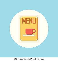 menu, símbolo, vetorial, ícone, sinal