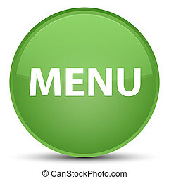 Menu special soft green round button