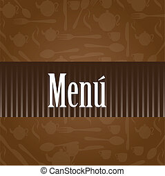 menu, vector