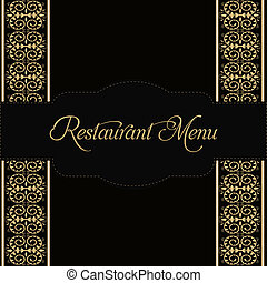 meny, restaurang, design