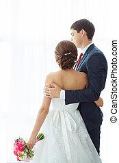 menyasszony inas, bent