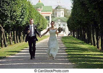 menyasszony inas, szerelemben