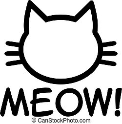 meow, chat