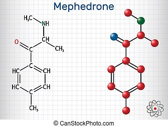 Mephedrone, 4-methyl methcathinone, 4-MMC, 4-methyl ...