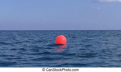 mer rouge, bouée