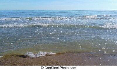 mer sable, entrer