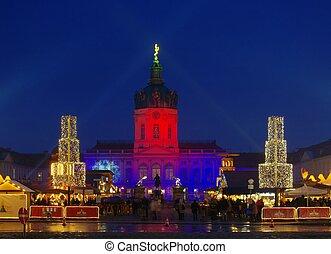 mercado, berlín, navidad, charlottenburg