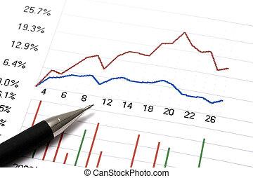 mercado conservado estoque, analisar