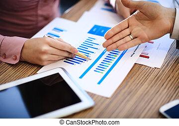mercado de valores, gráficos, controlar