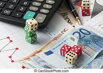 mercado, gamble, estoque