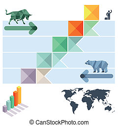 mercado, intercambios