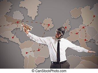mercado mundial, estratégia