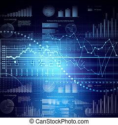 mercadotecnia, alta tecnología, plano de fondo