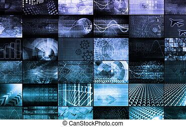 mercadotecnia, multimedia